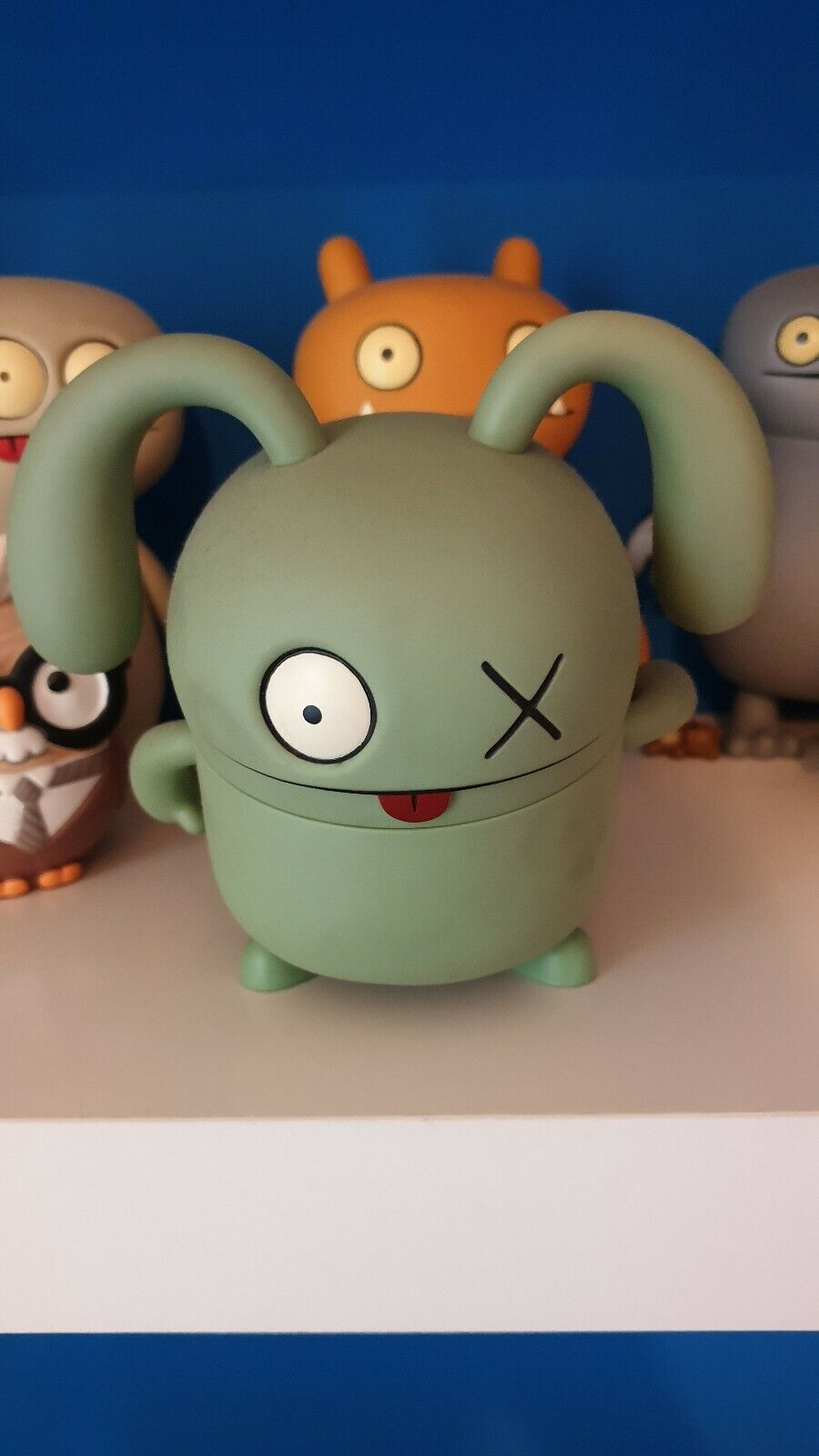 UGLYDOLL VINYL OX Critterbox 7  UGLY DOLL David Horvath VINILE RARE COLLECTION