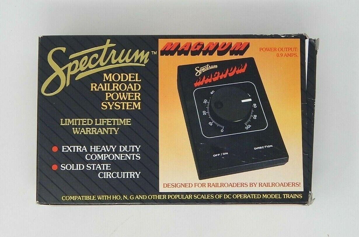 SPECTRUM 44-6683 MAGNUM PREMIER HO MODEL RAILROAD TRANSFORMER POWER SYSTEM R1989