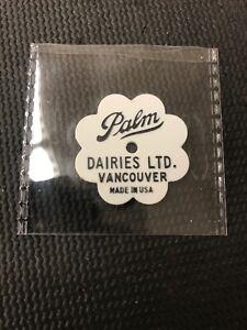 Token-Coin-Palm-Dairies-Ltd-Vancouver-White-Sunnyvale-2-Quart-Milk-Comb-Ship-P10