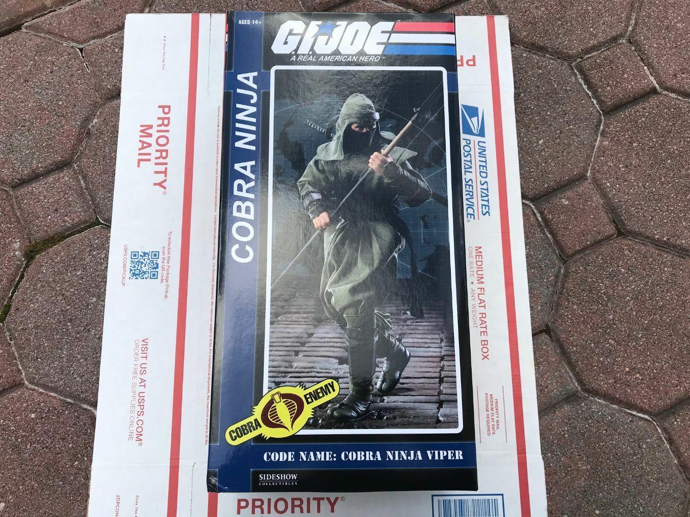Sideshow Collectibles Gi Joe Cobra Ninja Viper 1/6 Scale Figure SDCC Exclusive on eBay thumbnail
