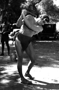 Johnny Weissmuller UNSIGNED photo  K3170  On the set of Tarzan Escapes - London, United Kingdom - Returns accepted Most purchases from business sellers are protected by the Consumer Contract Regulations 2013 which give you the right to cancel the purchase within 14 days after the day you receive the item. Find out more about y - London, United Kingdom