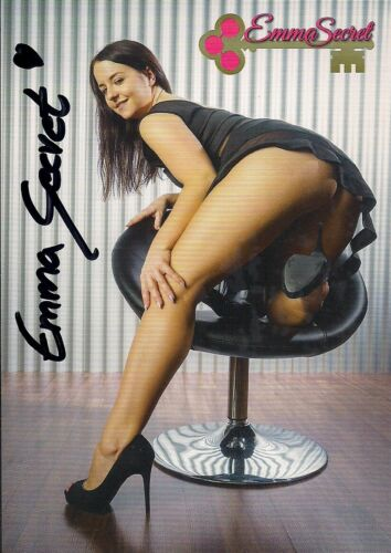 Venus 2019 Kollektion! Emma Secret Autogramm mit persönlicher Widmung