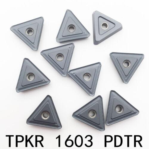 10pc TPKR1603 PDTR TPKR32PDTR  TPKR carbide insert for stainless steel ,steel