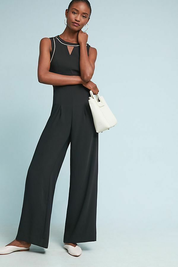 158 Anthropologie Whitney Tailored Jumpsuit   new with tag    size 16