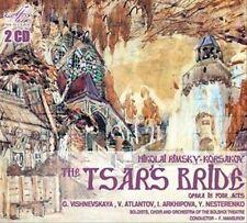 Rimsky-Korsakov: Tsar's Bride: Vishnevskaya, Arkhipova, Atlantov, Nesterenko;NEW