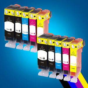 10-ink-Cartridge-for-Canon-PGi-525-IP4800-IP4850-IP4950-IX6250-IX6550-MG5150-2