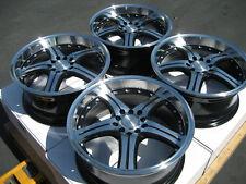 "17""  Wheel Rims 5x100 5x114.3 Toyota Corolla Matrix Prius Honda Accord Civic Si"