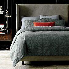 NIP DwellStudio Geneva Linen Blend Duvet Cover & Sham Set King $399 & $99