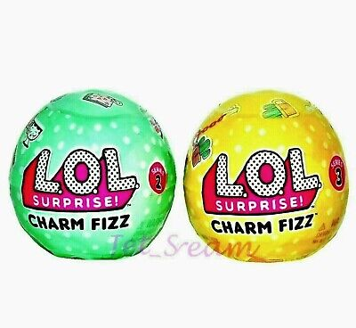 Lol Surprise Charm Fizz Balls Series 2 And 3 100 Authentic