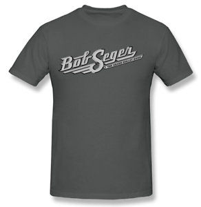 Men-039-s-Bob-Seger-The-Silver-Bullet-Band-T-Shirt