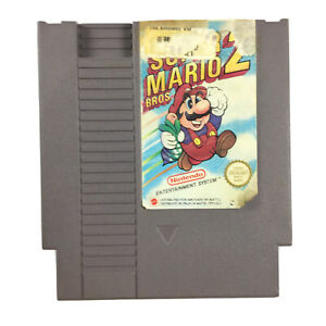 Nintendo-NES-Super-Mario-Bros-2-Game-Cartridge-NTSC-NES-MW-USA-Tested-amp-Working
