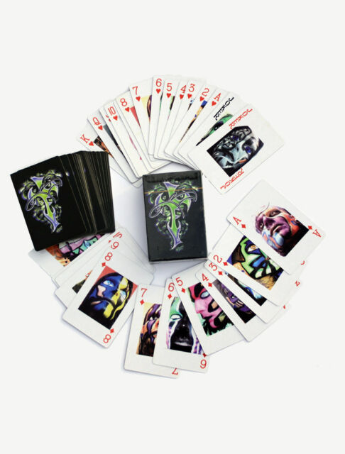 Jeff Hardy The Enigma Playing Cards TNA Impact Wrestling