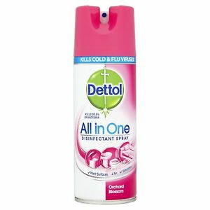Dettol Disinfectant Spray - 400 ml (Orchard Blossom) (Free shipping worldwide)