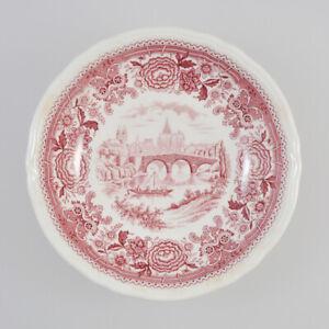 Villeroy-amp-Boch-Burgenland-Bowl-Red-Dessert-Dish-Small-Bowl