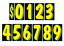 Car-Dealer-Windshield-Stickers-11-Dzn-Pricing-Numbers-You-Pick-Color-7-1-2-Inch thumbnail 4
