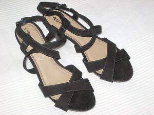 sandalen gr 38 schwarz