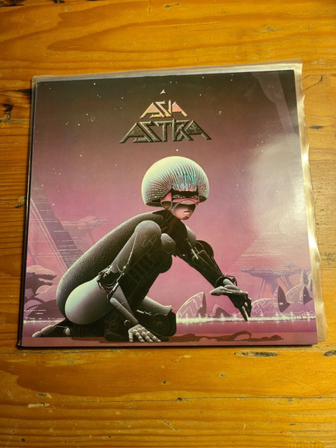 LP, Asia, Astra, Rock, Vg+/vg+