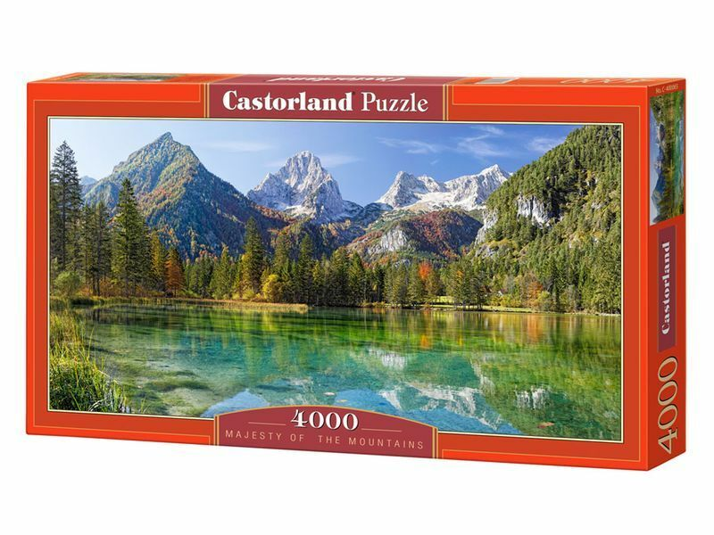 Castorland Puzzle 4000Pieces Majesty of the Mountains 54