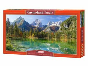 "Castorland Puzzle 4000Pieces Majesty of the Mountains 54""x27"" Sealed box C400065"