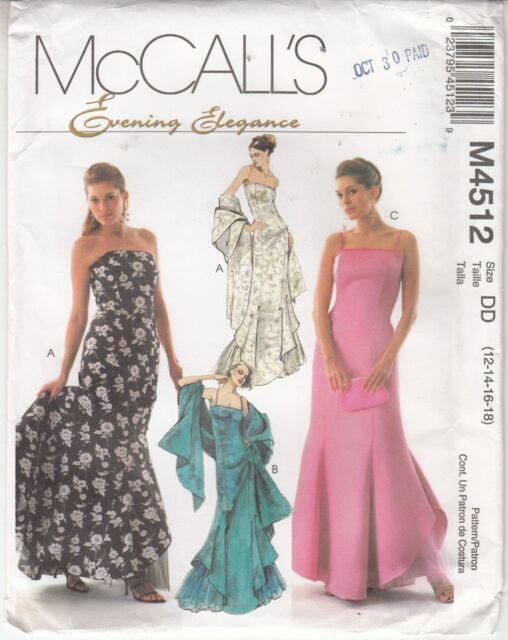 Formal Dress Patterns McCall's