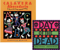 Calavera Abecedario Day Of The Dead Alphabet & Day Of The Dead Tony Johnston