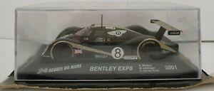 1-43-BENTLEY-EXP8-2001-24H-DU-LE-MANS-WALLACE-POELE-IXO-ESCALA-SCALE-CAR-DIECAST