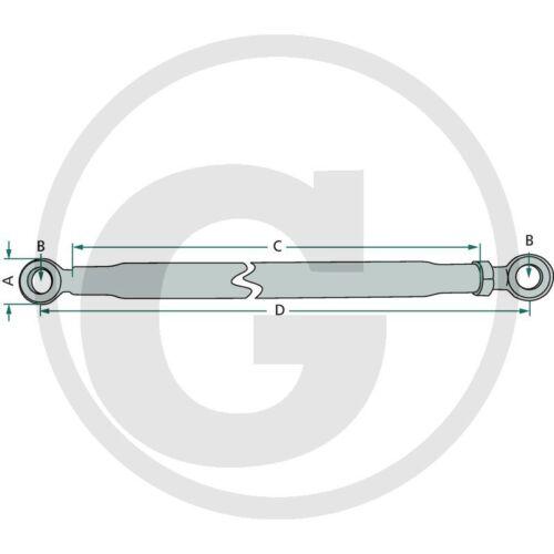 Estabilizador barra regulable 645-945 de sujeción cadena estabilizador cadena tres puntos