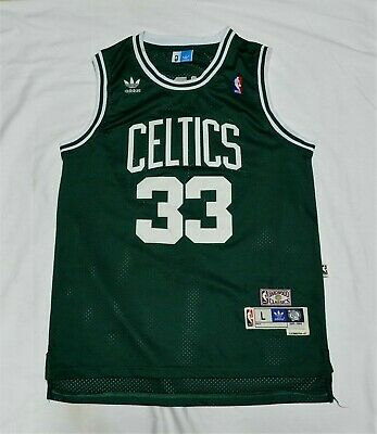 Adidas Hardwood Classics Boston Celtics Larry Bird Autograph Jersey Large | eBay