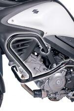04-15 Suzuki DL650 V-Strom Puig Black Engine Guard  5884N