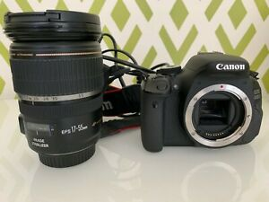 Details about Canon EOS 600D Digital SLR Camera with 1 Lenses