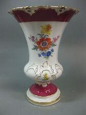 Meissen 1 Wahl Vase Rot Gold Entwurf Leuteritz B Form X Form Figur Prunkgeschirr