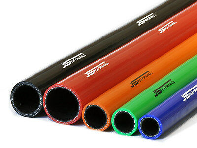 JS Performance Fluoro-lined Straight Silicone Hose 8mm Diameter/1 Metre Length