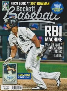 Baseball-Beckett-Price-Guide-Magazine-December-2020-Jose-Abreu