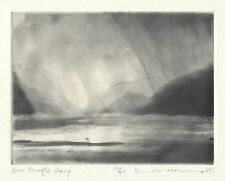 Norman Ackroyd Original Etching 1997 signed numbered Ed 90 County Kerry Ireland