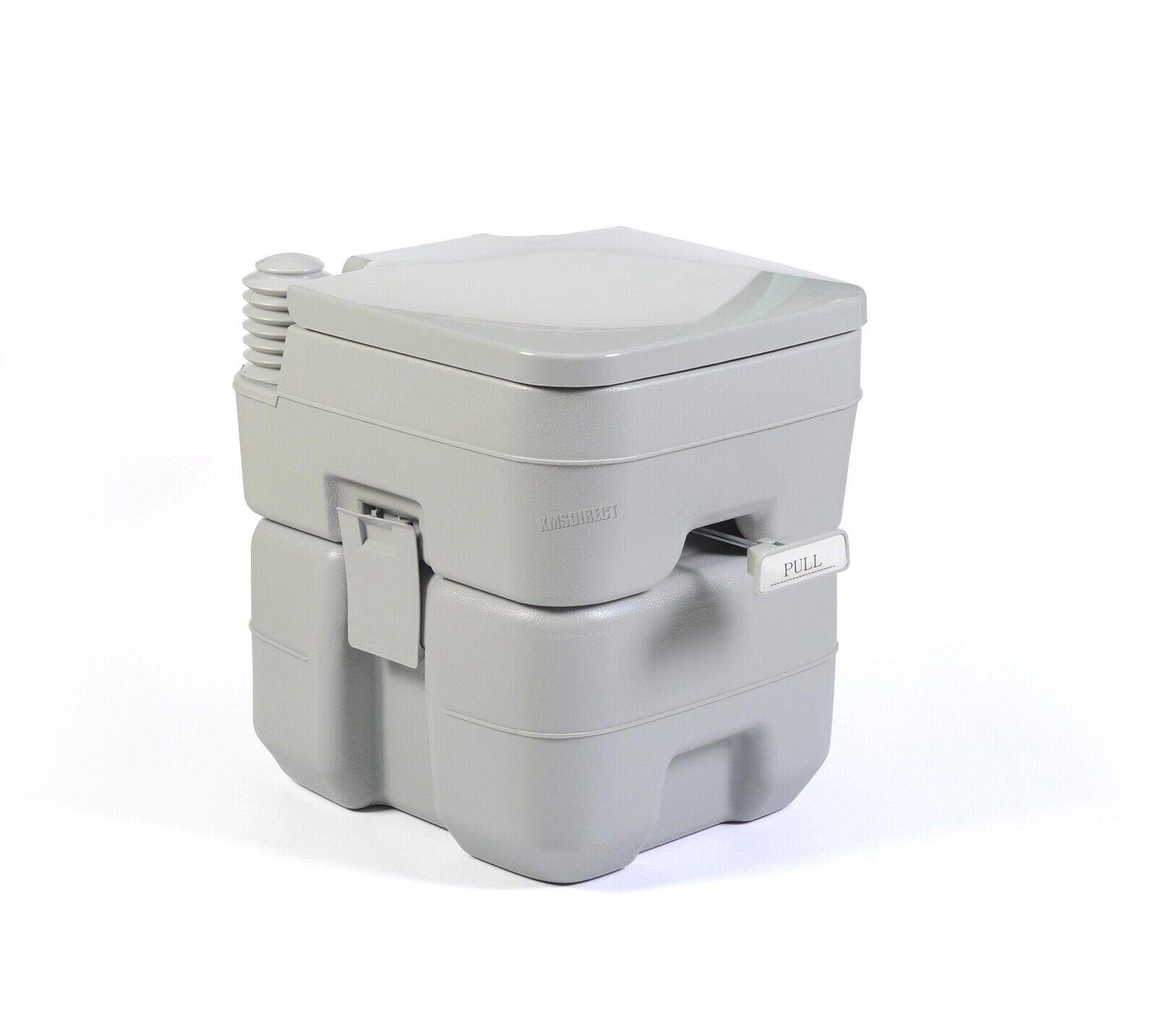 FoxHunter 20L Portable Toilet Flush Caravan Camping Travel WC Loo Porta Potty 3