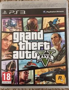 Grand Theft Auto V - GTA 5 PS3 - Very Good  Condition - 1st Class Fast Delivery 5026555413060