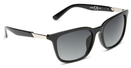 Unisex Uomo Donna Classico Retrò Scuro Vintage occhiali da sole Firmati Nero VALIGETTA