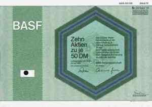 Basf Ag 1984 Ludwigshafen Rhin Badische Aniline Soda Usine 500 Dm Molécule Deco-afficher Le Titre D'origine