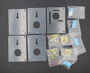 Stacked-4-Floors-Clear-Raspberry-Pi-3-Pi-2-Case-Half-Open-Frame-Enclosure-x1pcs
