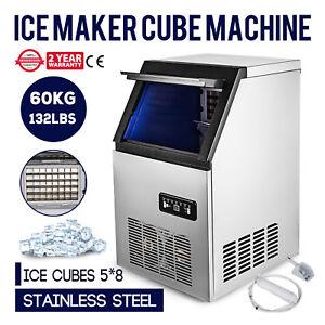 Eis Würfel Maschine Gastro Eiswürfelbereiter Eismaschine 50 kg 24 h