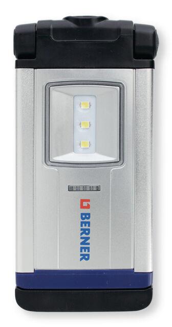 BERNER LED-LAMPE POCKET DELUX BRIGHT PREMIUM Li-Io AKKU 249057 kein Würth
