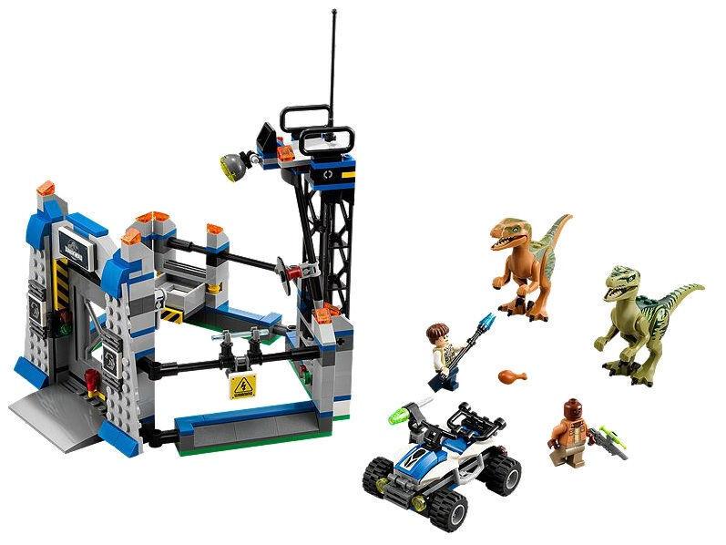 LEGO Jurassic World Ausbruch der Raptoren (75920)