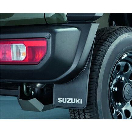 Paraspruzzi Anteriori e Posteriori Neri ORIGINALE set 4pz Suzuki Jimny New