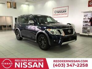 2017 Nissan Armada PLATINUM EDITION   4WD   POWER LIFTGATE   HEATED STEERING WHEEL   HEATED SEATS