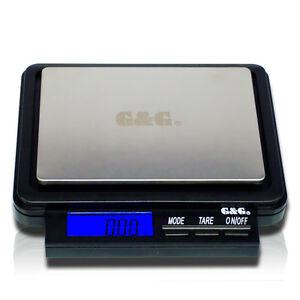G-amp-G-F-1000g-0-05g-Feinwaage-Digital-Waage-Goldwaage-Waage-Taschenwaage