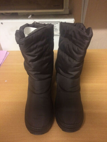 High Quality Womens Snow boots shoes winter ankle shoes Brown