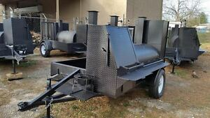 Pro-BBQ-Mobile-Catering-Business-Smoker-Grill-Trailer-Food-Cart-Truck-Concession