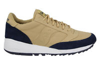 Saucony Jazz 91 Mens 8 Tan Blue S70216-6 Retro