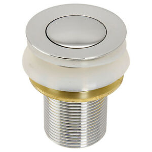 Round 32mm Chrome Pop-up Basin Plug & Waste without Overflow | Watermarked -AU