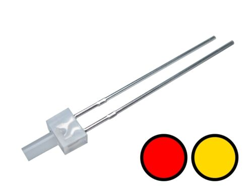 S658 20 Stk DUO Tower LEDs 2mm Bi-Color gelb rot diffus Lichtwechsel Wendezug